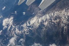 Italian Alps. View from plain royalty free stock images
