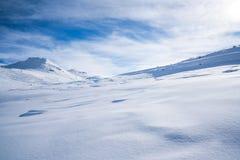 Italian Alps in the winter Royalty Free Stock Photo