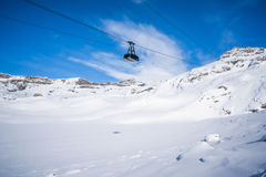 Italian Alps in the winter Stock Photography