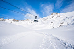 Italian Alps in the winter Stock Images