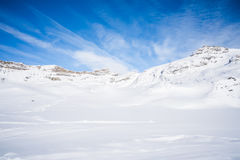 Italian Alps in the winter Royalty Free Stock Image