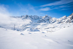 Italian Alps in the winter Royalty Free Stock Photos