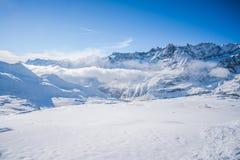 Italian Alps in the winter Stock Photos