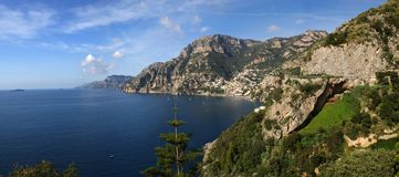 Italian Amalfi Coast Royalty Free Stock Images