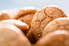 Italian Amaretti Biscuits Royalty Free Stock Image