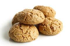 Italian amaretti biscuits. Royalty Free Stock Image