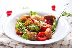 Italian angioletti fritti traditional vegetarian food Royalty Free Stock Photo