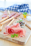 Italian Antipasti Stock Photography