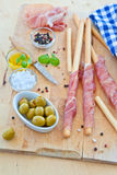Italian Antipasti Royalty Free Stock Photo