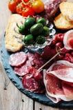 Italian antipasto Stock Photography