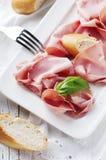 Italian antipasto with mortadella of bologna Stock Photography