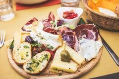 Italian antipasto Royalty Free Stock Photo