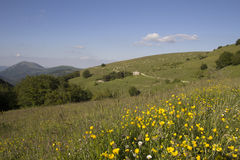 Italian appennino in the spring Stock Photography