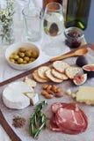 Italian appetisers Royalty Free Stock Photo