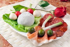 Italian Appetizer Royalty Free Stock Photography