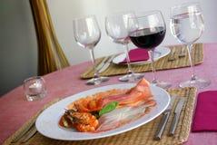 Italian appetizer Stock Image