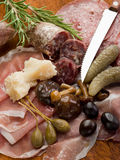 Italian appetizer Royalty Free Stock Photo