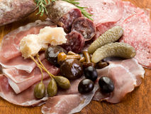 Italian appetizer Stock Images