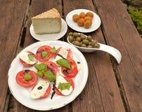 Italian appetizer Stock Photo