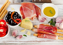 Italian appetizer Stock Photography