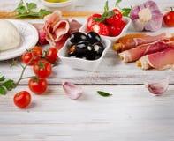 Italian appetizer Royalty Free Stock Photo