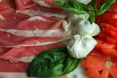 Italian Appetizer Royalty Free Stock Images