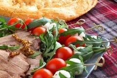 Italian appetizer snacks Royalty Free Stock Image