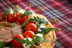 Italian appetizer snacks Royalty Free Stock Photography