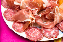 Italian appetizers Royalty Free Stock Photo