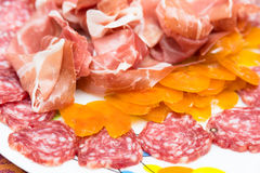 Italian appetizers Royalty Free Stock Photos