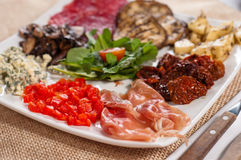 Italian appetizers Royalty Free Stock Photography