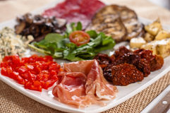 Italian appetizers Royalty Free Stock Image