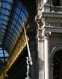 Italian architecture. With details and sculptures Stock Image