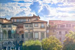 Italian architecture Royalty Free Stock Photo