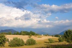 The Italian area Tuscany Royalty Free Stock Image