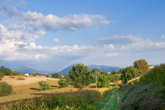 The Italian area Tuscany Royalty Free Stock Photography