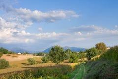 The Italian area Tuscany Royalty Free Stock Photography
