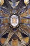 Italian art : church ceiling in Rome, Italy Stock Photos