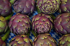 Italian artichoke at the market Royalty Free Stock Photography