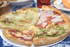Italian artisan pizza Royalty Free Stock Image