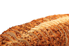 Italian Artisan White Bread Royalty Free Stock Images