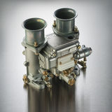Italian automobile carburetor Royalty Free Stock Image