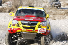 Italian Baja cross-country race - BALAZS SZALAY Royalty Free Stock Image