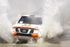 Italian Baja cross-country race - BORIS GADASIN Stock Images