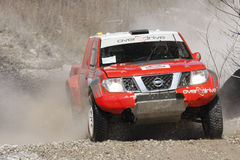 Italian Baja cross-country race, MIRONENKO Royalty Free Stock Photo