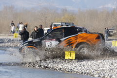 Italian Baja cross-country race - MIROSAV ZAPLETAL Royalty Free Stock Photos