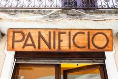 Italian bakery Stock Image