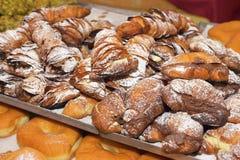 Italian bakery products royalty free stock photos