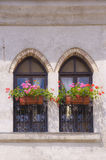 Italian balconies Stock Photography