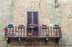 Italian balcony Stock Photos